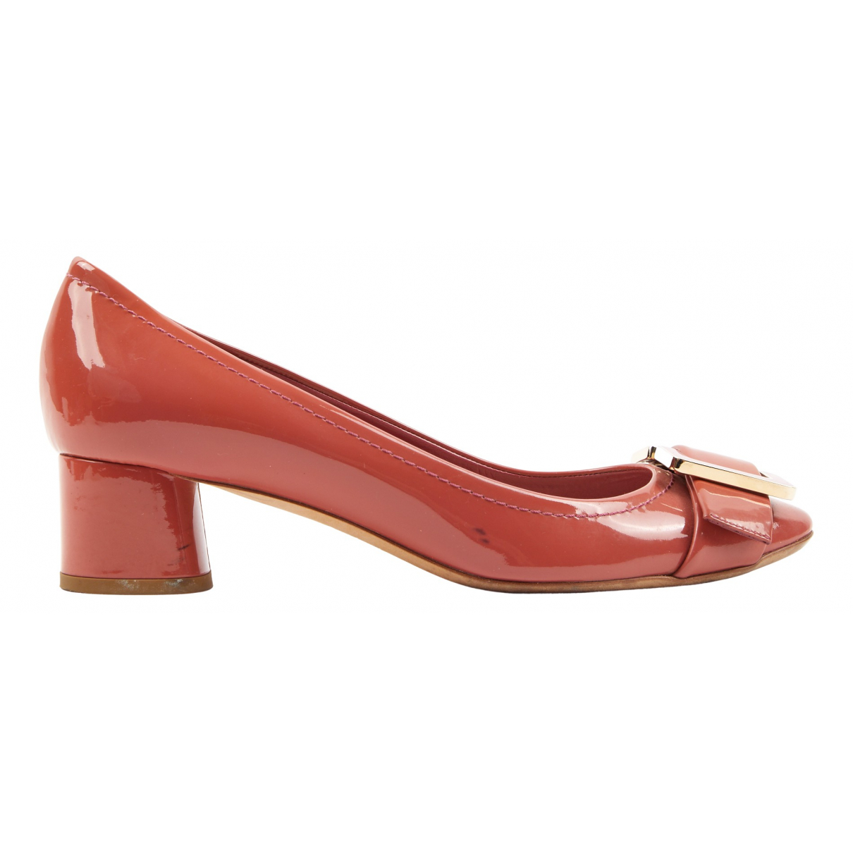 Christian Dior N Pink Patent leather Heels for Women 39.5 EU
