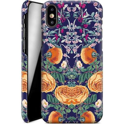Apple iPhone XS Smartphone Huelle - Midnight Spring von Zala Farah