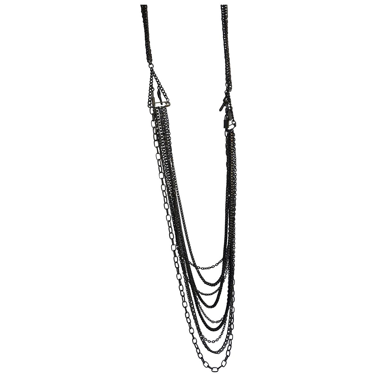 Ikks \N Halskette in  Metallic Metall