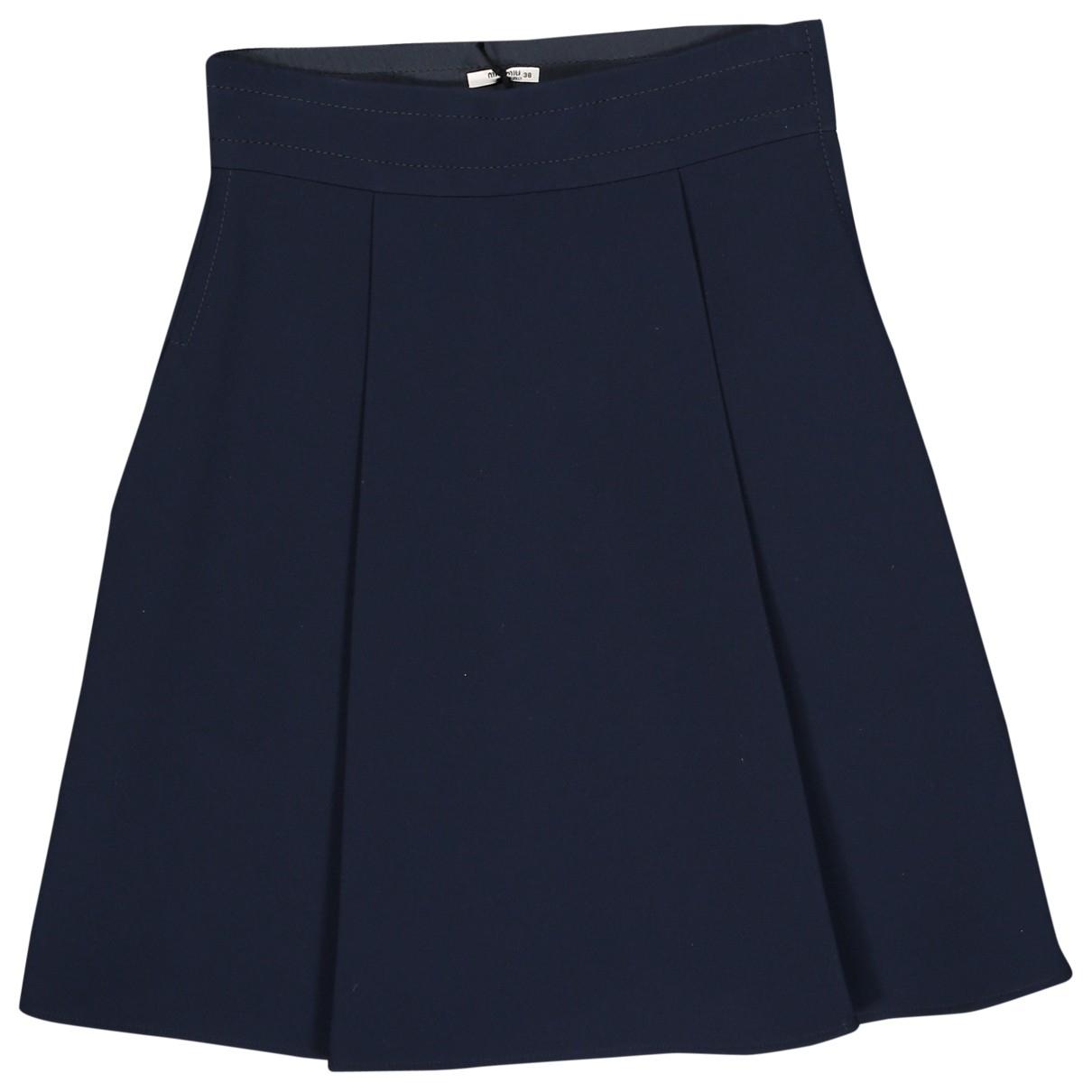 Miu Miu \N Navy skirt for Women 38 IT