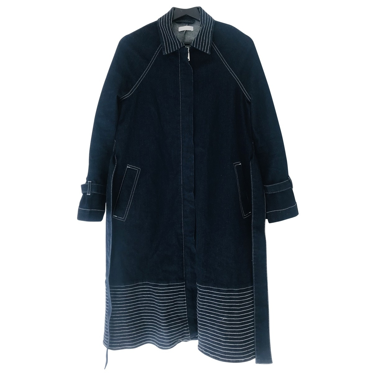 2nd Day \N Navy Denim - Jeans jacket for Women 36 FR