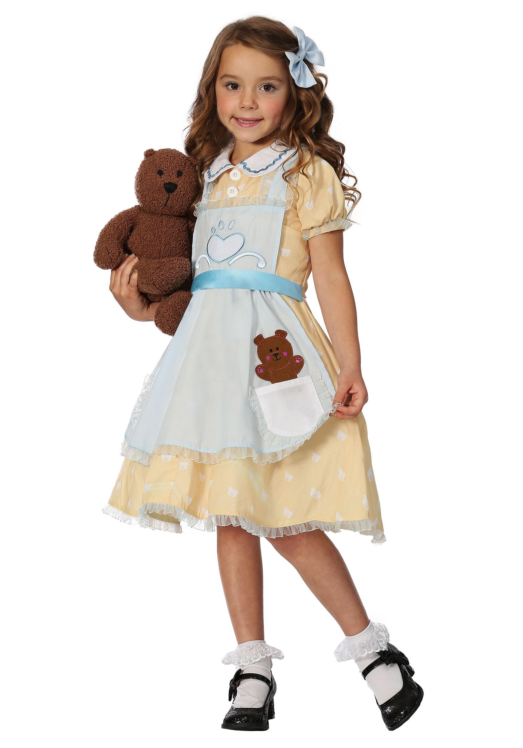 Goldilocks Costume for Girls
