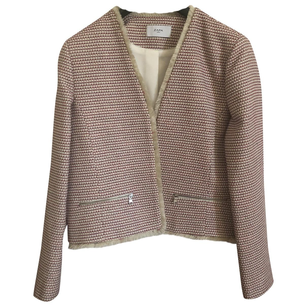 Zapa - Veste   pour femme en coton - multicolore