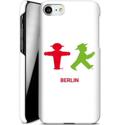 Apple iPhone 8 Smartphone Huelle - Green and Red von AMPELMANN