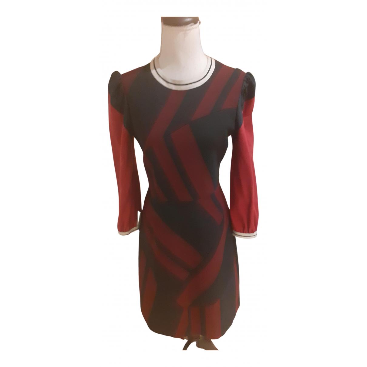 Karen Millen - Robe   pour femme - rouge