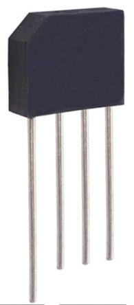 HY Electronic Corp KBP306G, Bridge Rectifier, 3A 600V, 4-Pin KBP (50)