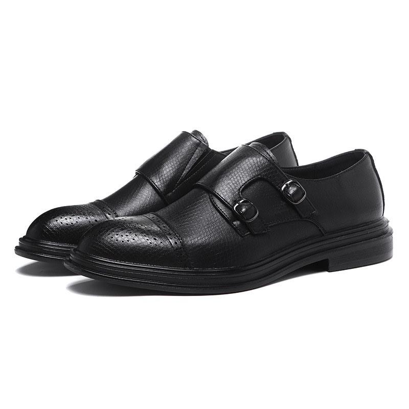 Ericdress Low-Cut Upper Plain Slip-On Men's Dress Shoes