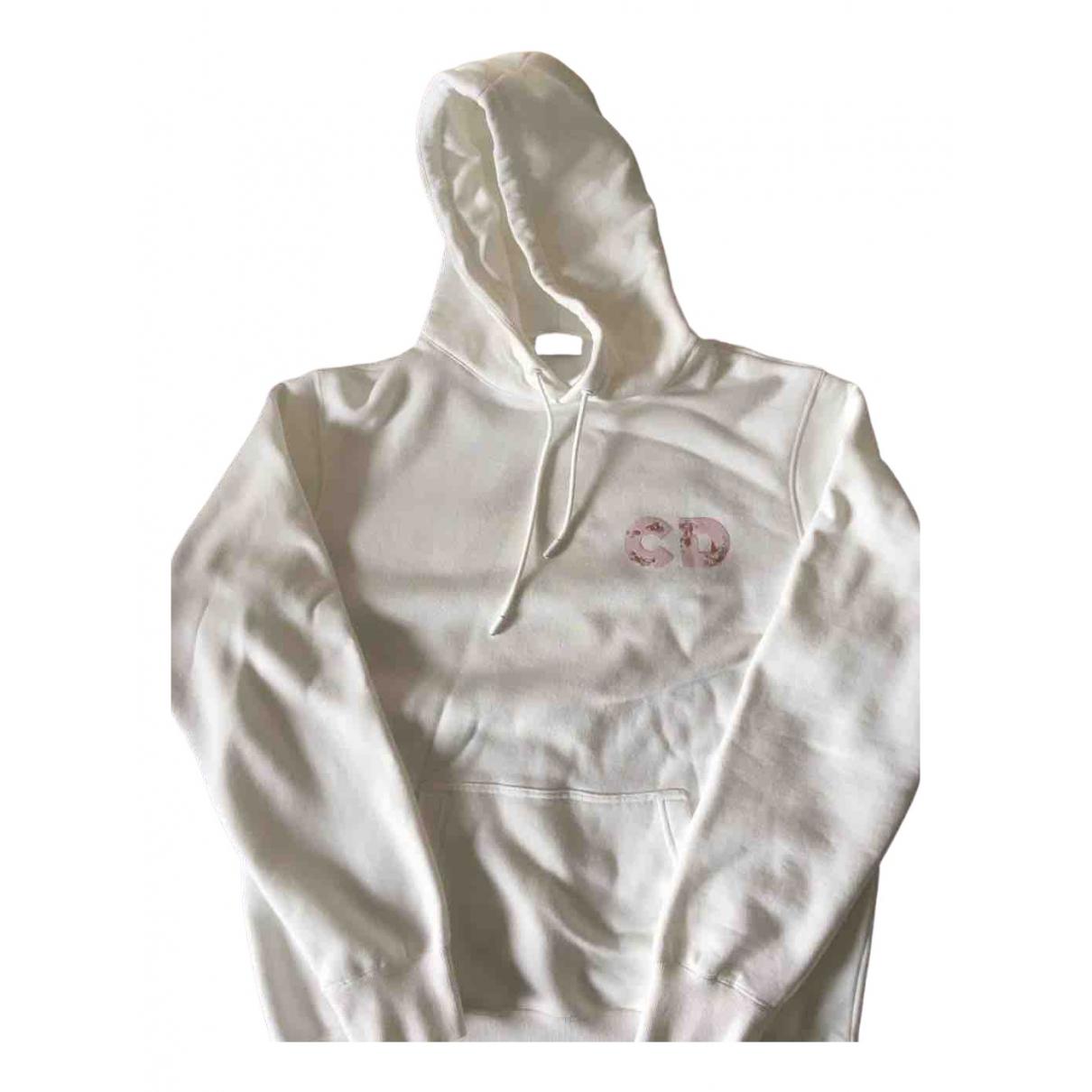 Dior \N White Cotton Knitwear & Sweatshirts for Men M International