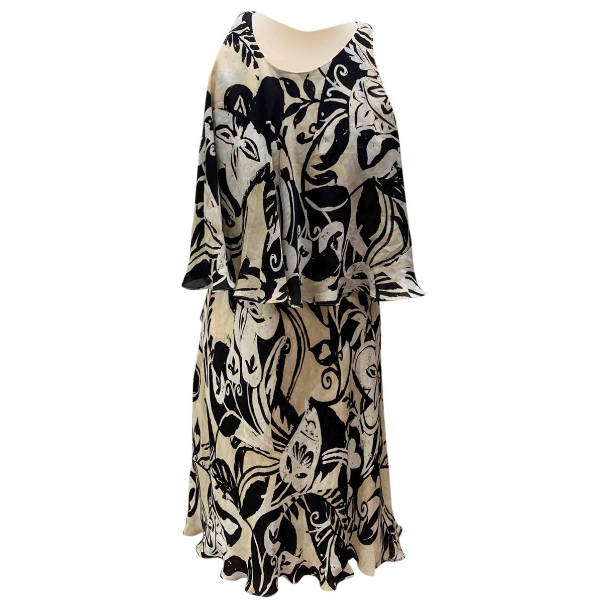 Polo Ralph Lauren \N Kleid in  Beige Seide