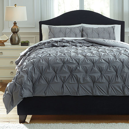 Signature Design by Ashley Midweight Comforter, One Size , Gray
