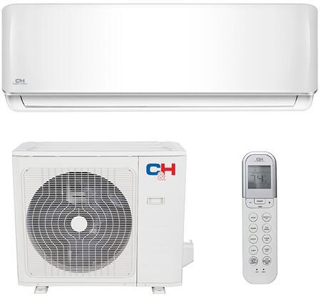 CH09SPH230V Sophia Mini Split System with 9000 BTU Cooling Capacity  High Density Filter  Mute Operation  Auto Restart  Sleep Mode  Self Diagnosis