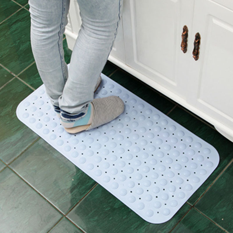 Modern Simple Slide-proof PVC Bath Mats with Powerful Gripping Technology