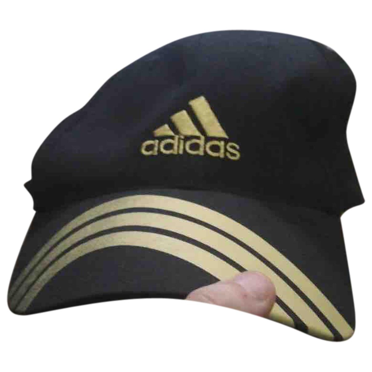 Adidas N Black Cotton hat & pull on hat for Men 57 cm