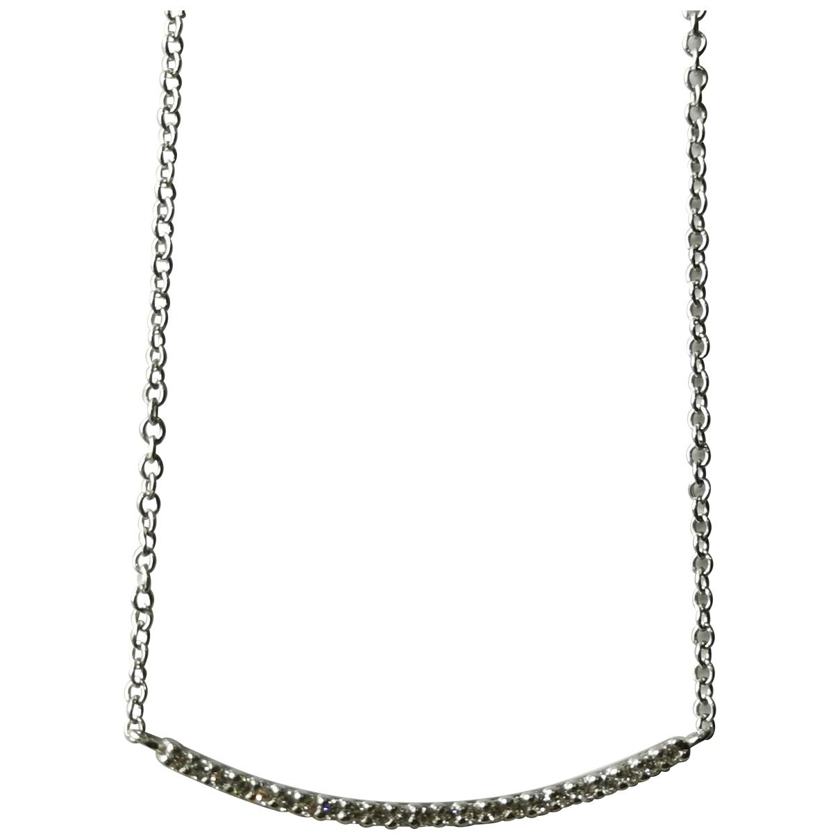 Collar de Oro blanco Non Signe / Unsigned