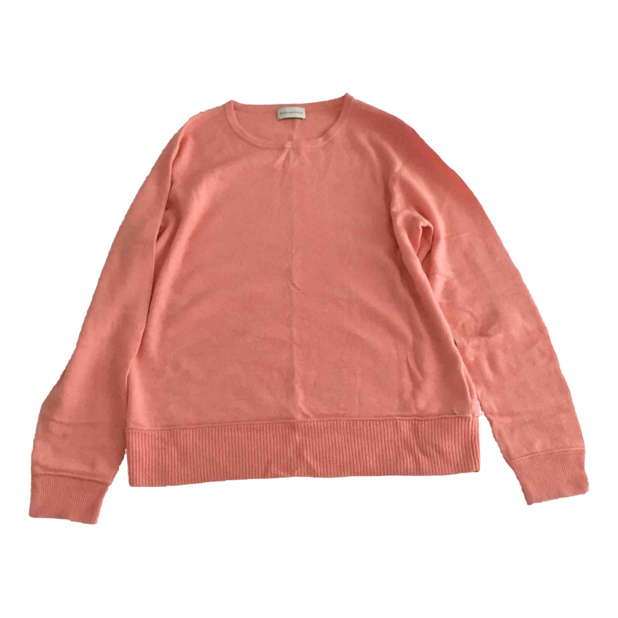 Delicatelove \N Pullover in  Rosa Wolle