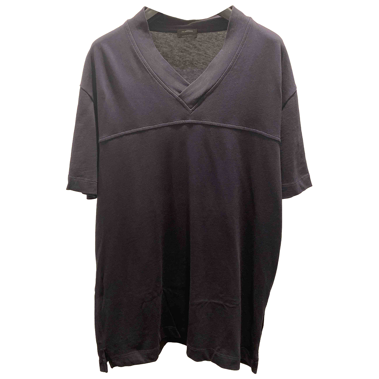 Jil Sander N Navy Cotton T-shirts for Men S International