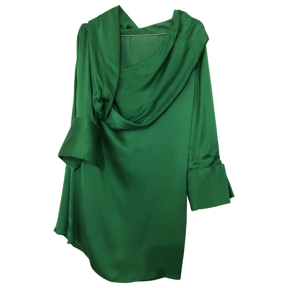 Alice & Olivia - Robe   pour femme en soie - vert