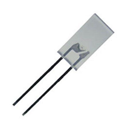 Kingbright 2.2 V Green LED Rectangular Through Hole,  L-383SGWT (5)