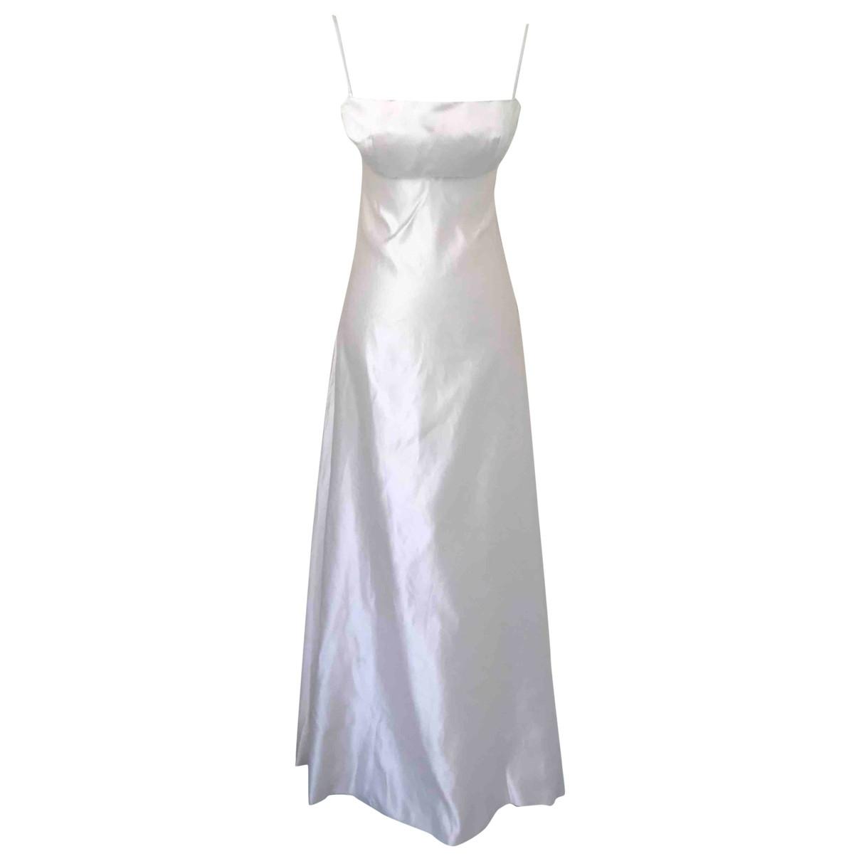 Morgane Le Fay \N White Silk dress for Women S International