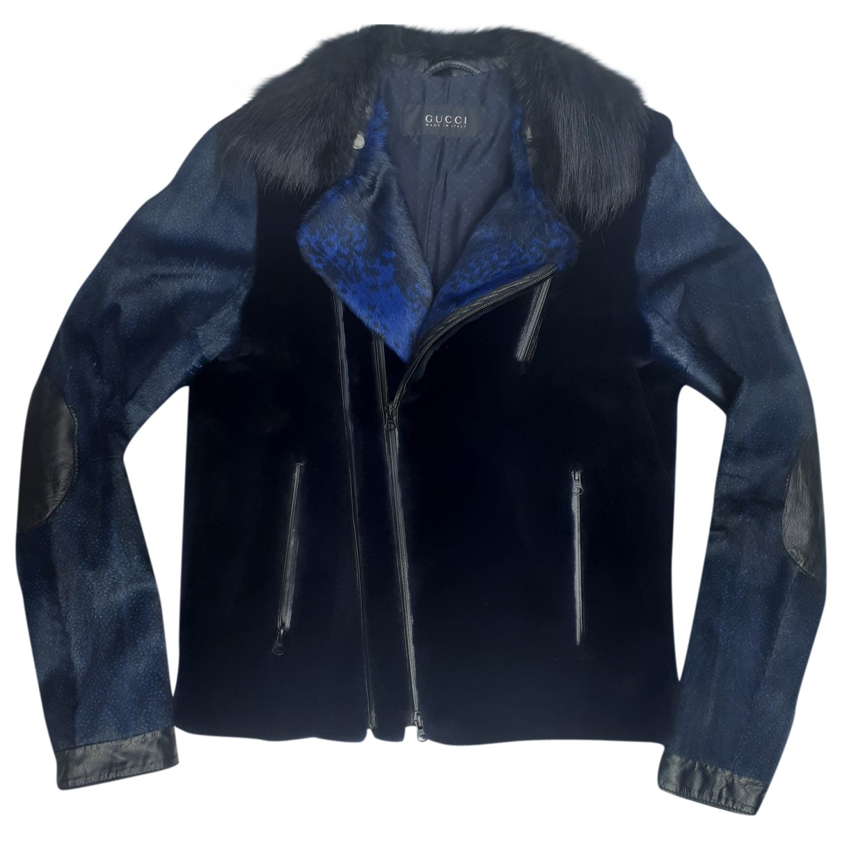 Gucci N Blue Mink jacket  for Men 46 IT