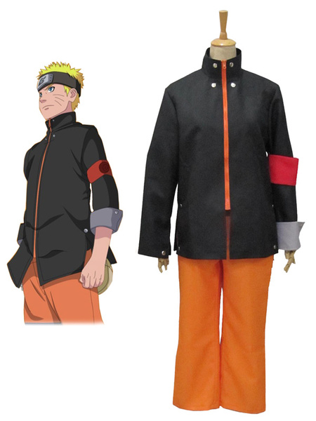 Milanoo Uzumaki Naruto Naruto The last Cosplay Costume Halloween