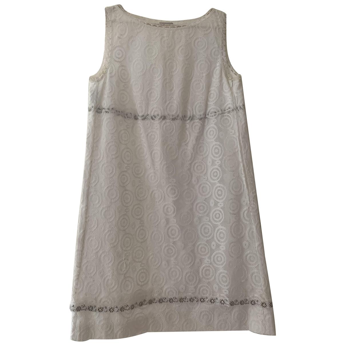 Philosophy Di Alberta Ferretti - Robe   pour femme en coton - blanc