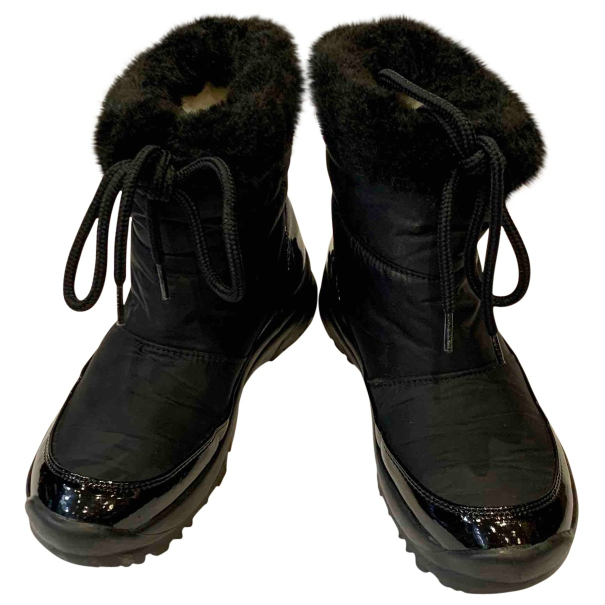 Baldinini N Black Cloth Ankle boots for Women 36 EU