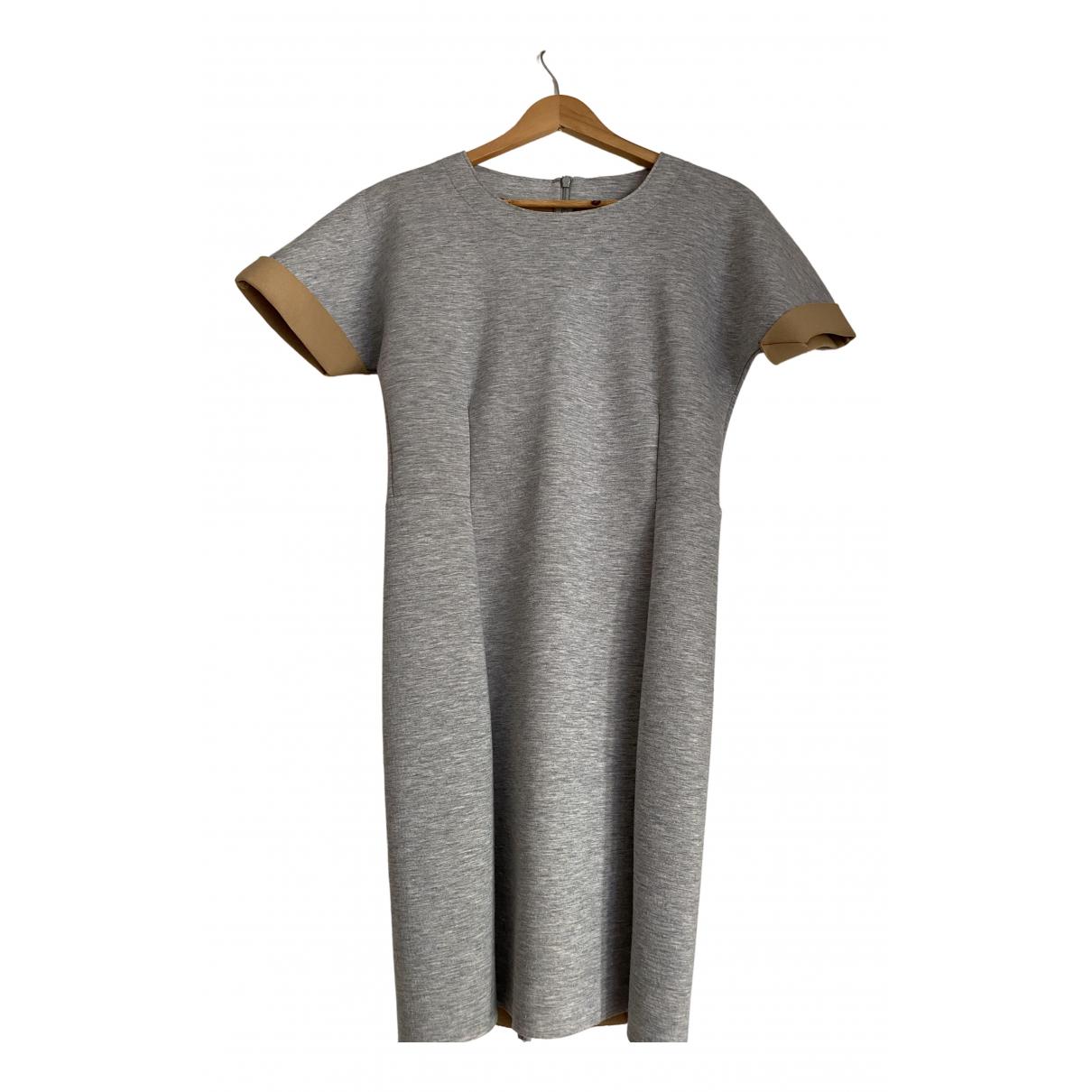By Malene Birger \N Kleid in  Grau Polyester