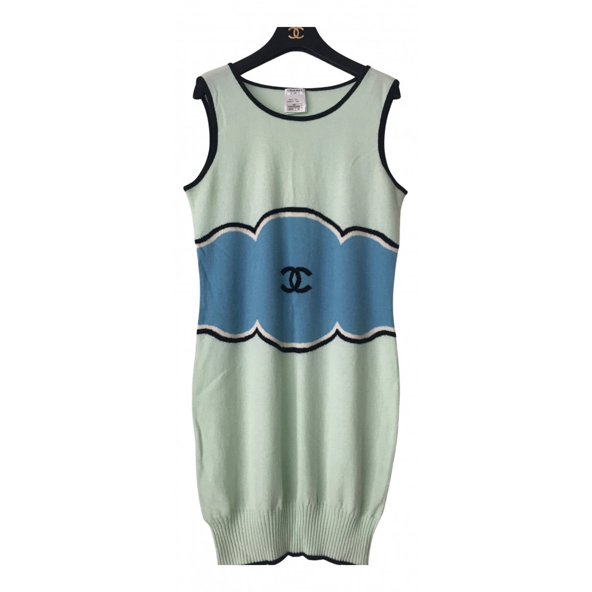 Chanel \N Green Cashmere dress for Women 40 FR