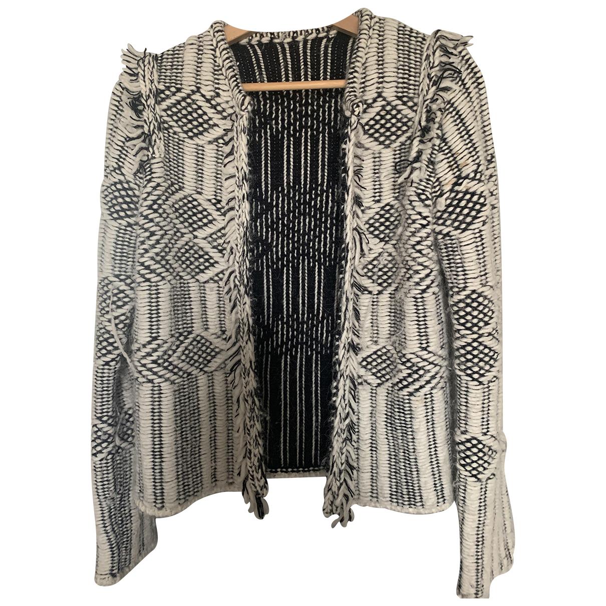 Stefanel - Pull   pour femme en laine - multicolore