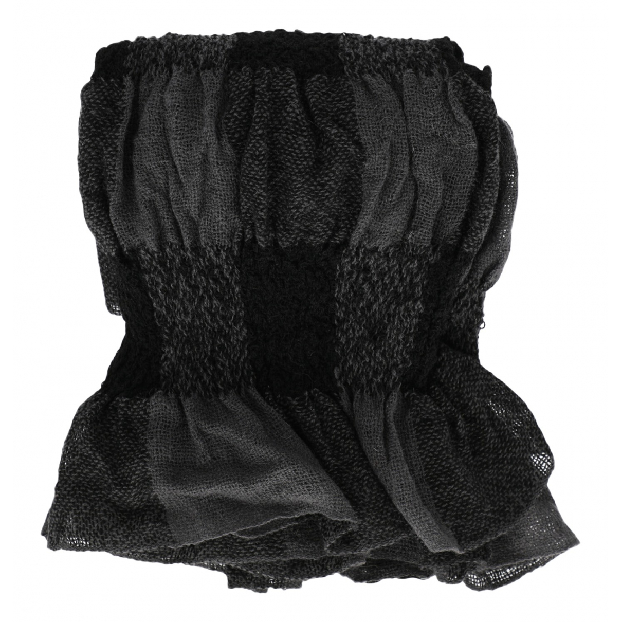 Giorgio Armani - Foulard   pour femme en laine - noir