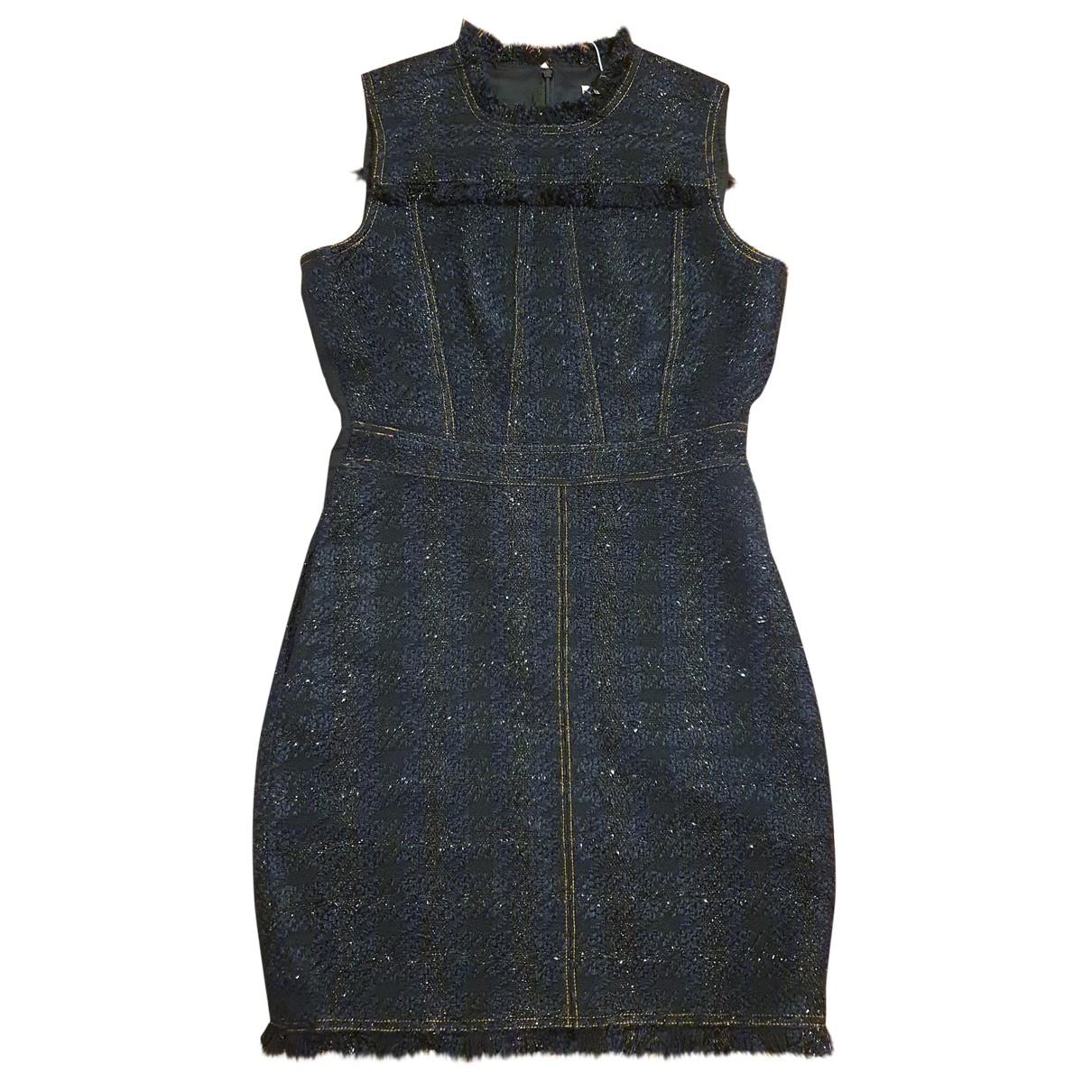 Tory Burch \N Kleid in  Schwarz Tweed