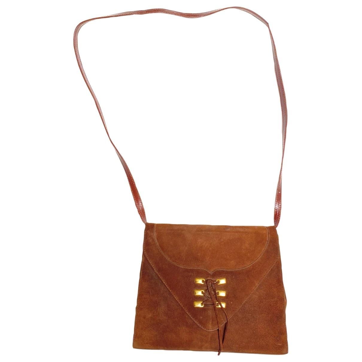 Georges Rech \N Brown Suede handbag for Women \N