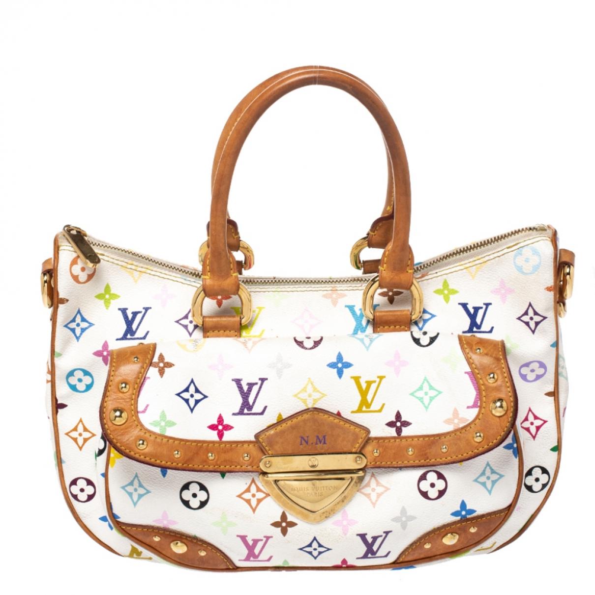 Louis Vuitton Rita Handtasche in  Weiss Leder