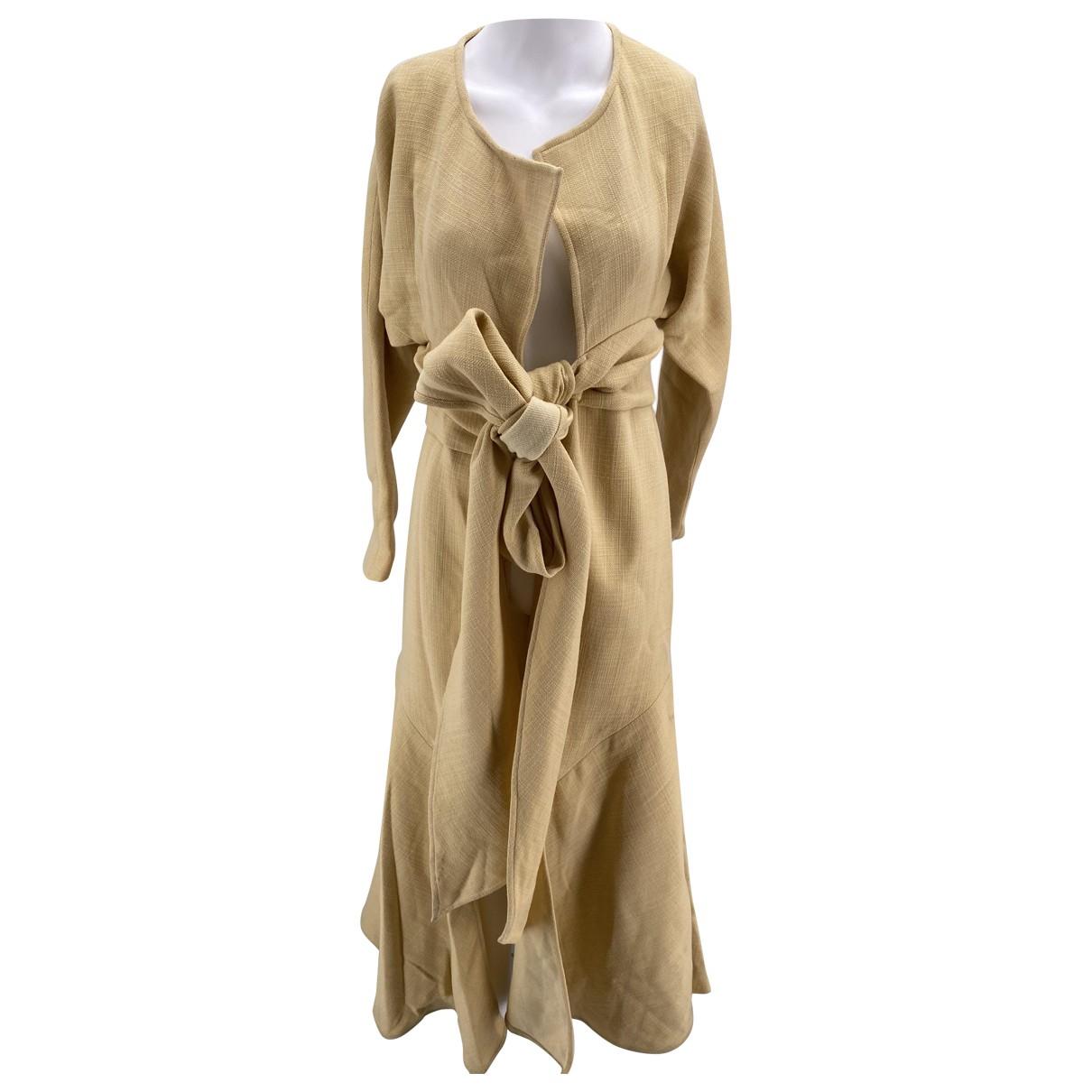 Jacquemus - Robe Le Souk pour femme en laine - ecru
