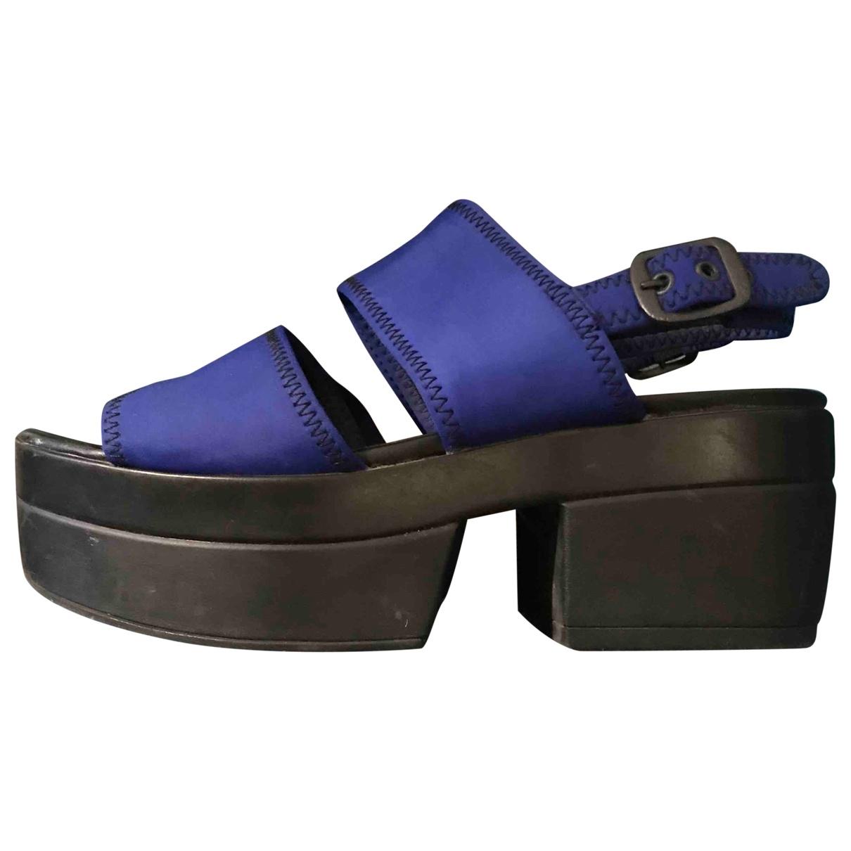Vagabond - Sandales   pour femme - bleu