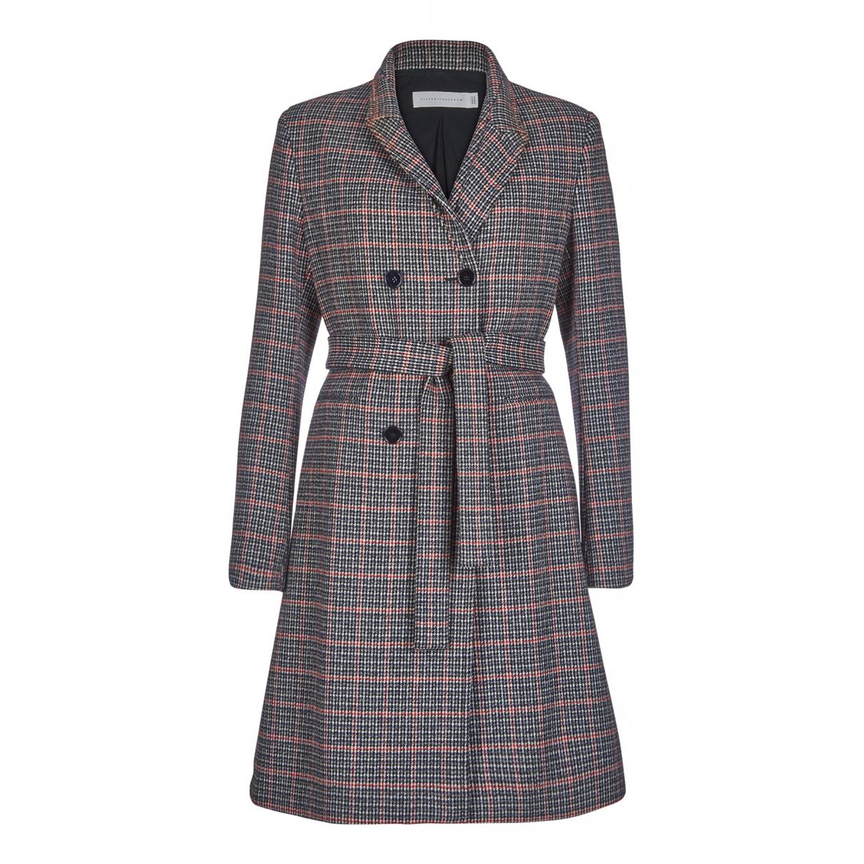 Victoria Beckham - Manteau   pour femme en coton - multicolore