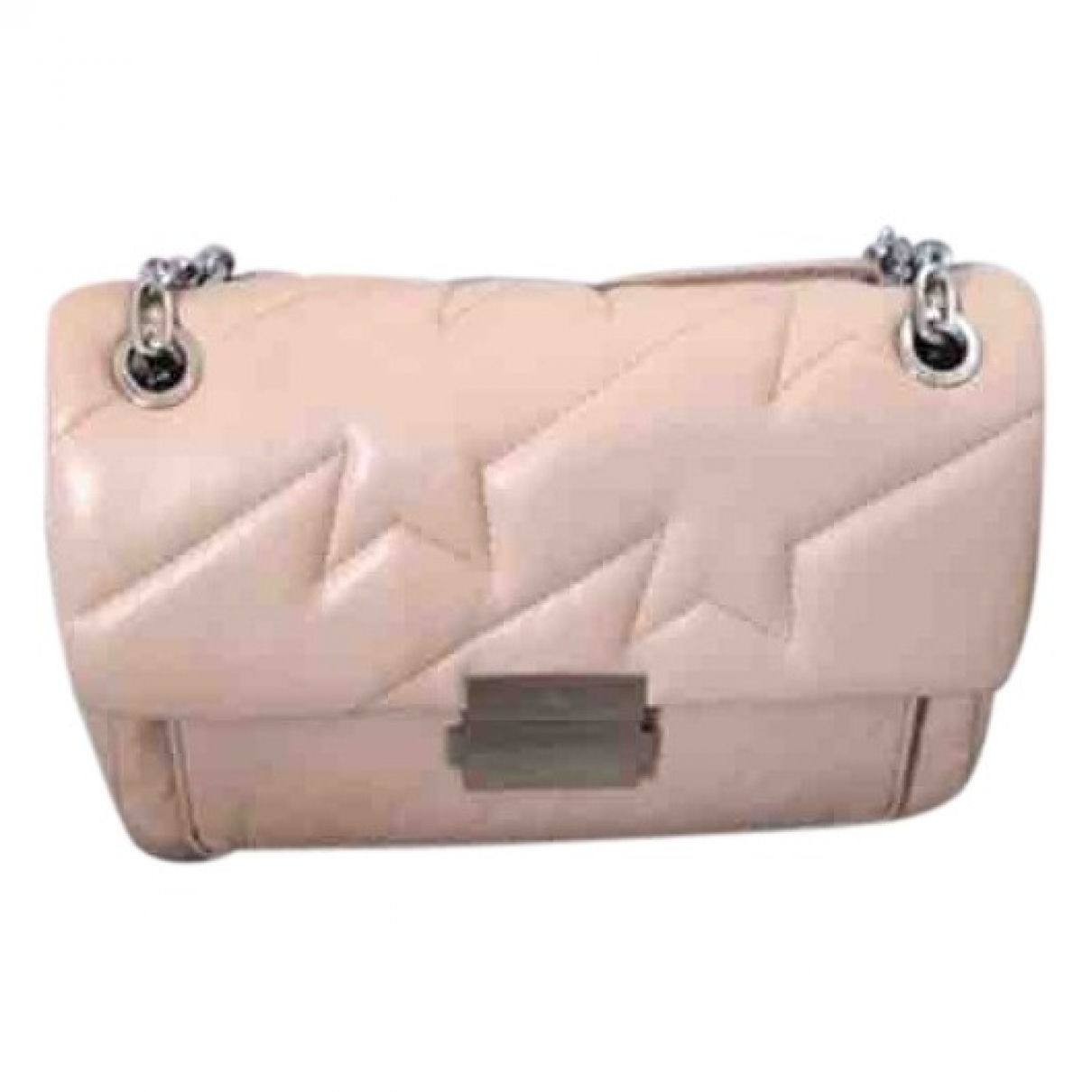 Zadig & Voltaire Ziggy XL  Beige Leather handbag for Women \N