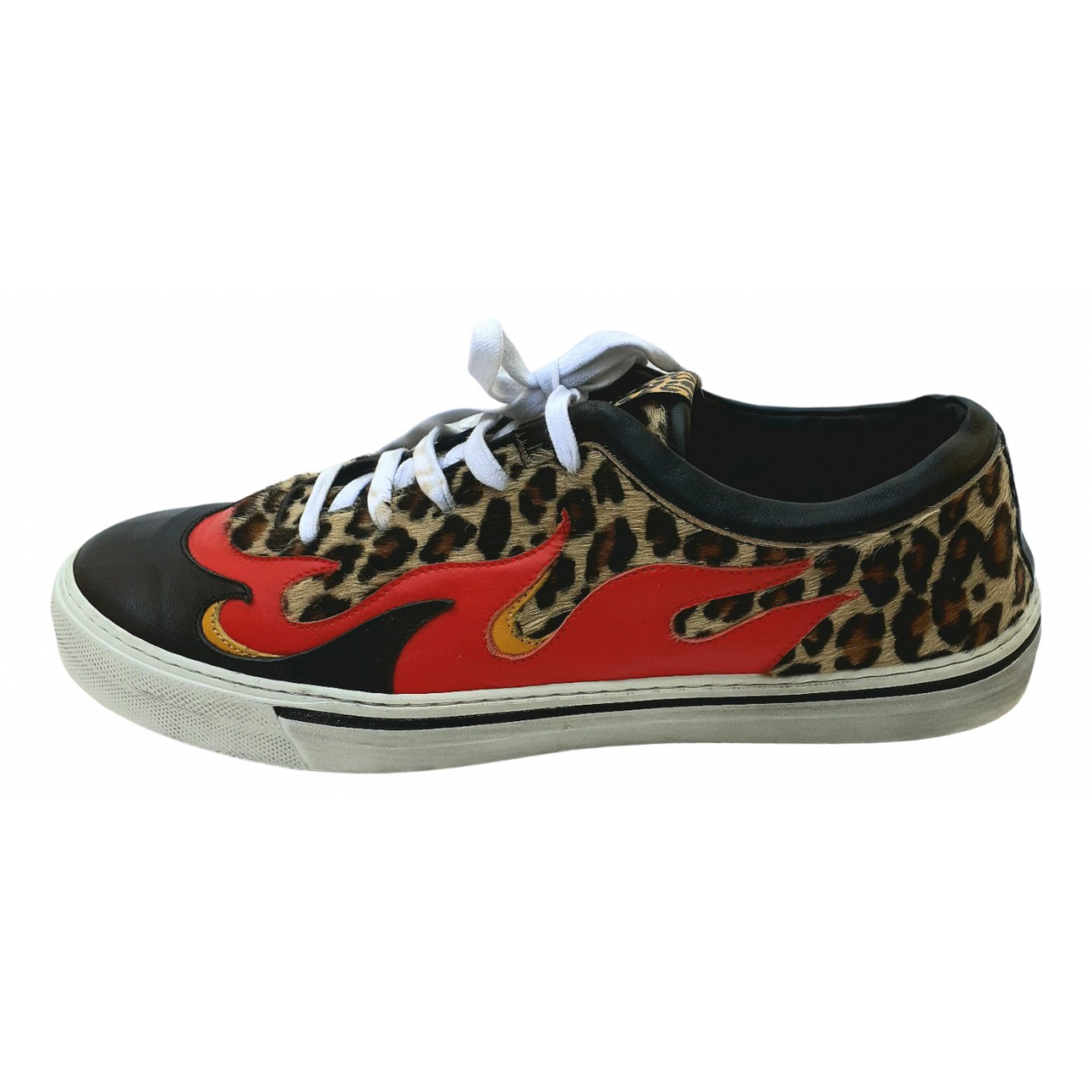 Just Cavalli \N Multicolour Leather Trainers for Men 42 EU