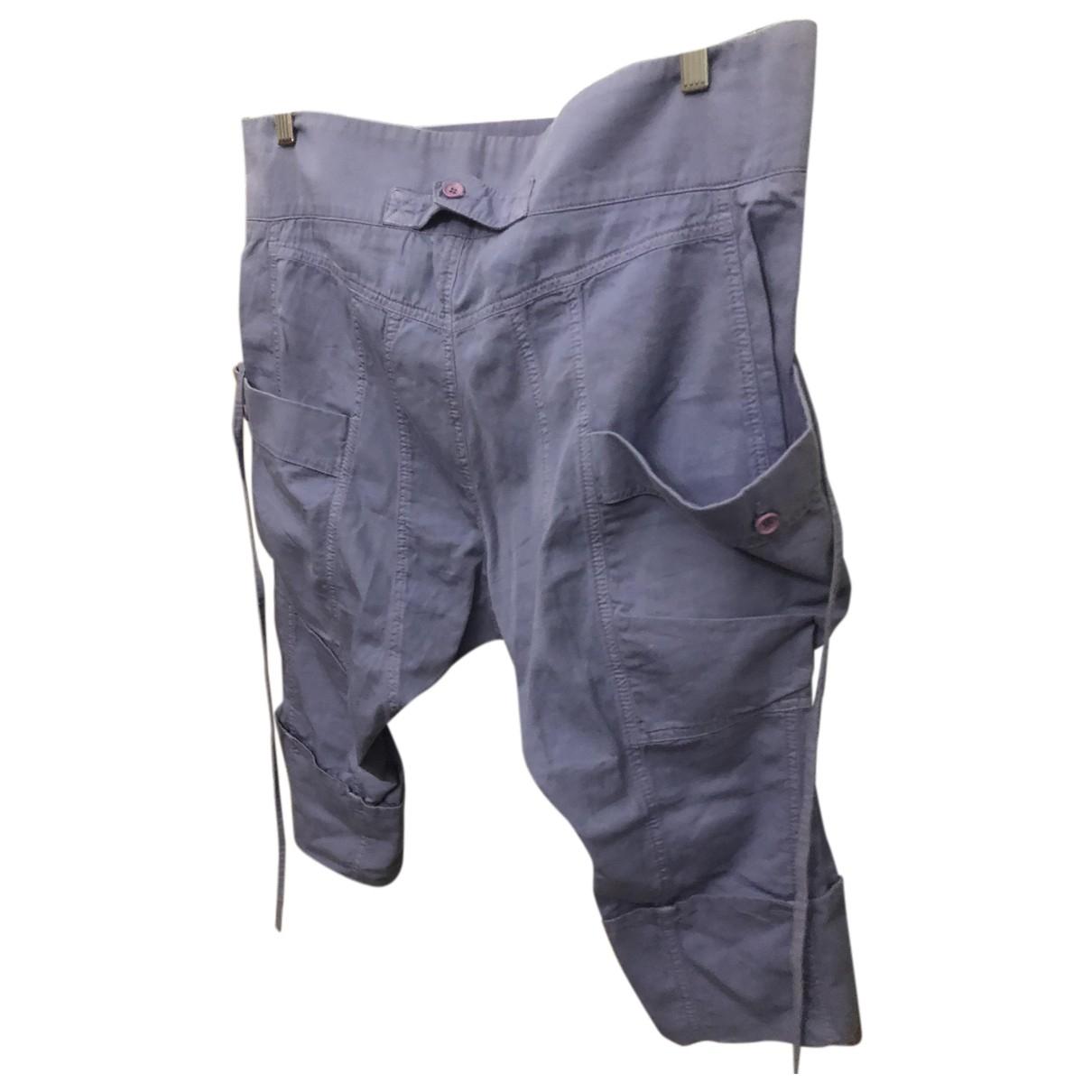 D&g \N Shorts in  Lila Baumwolle
