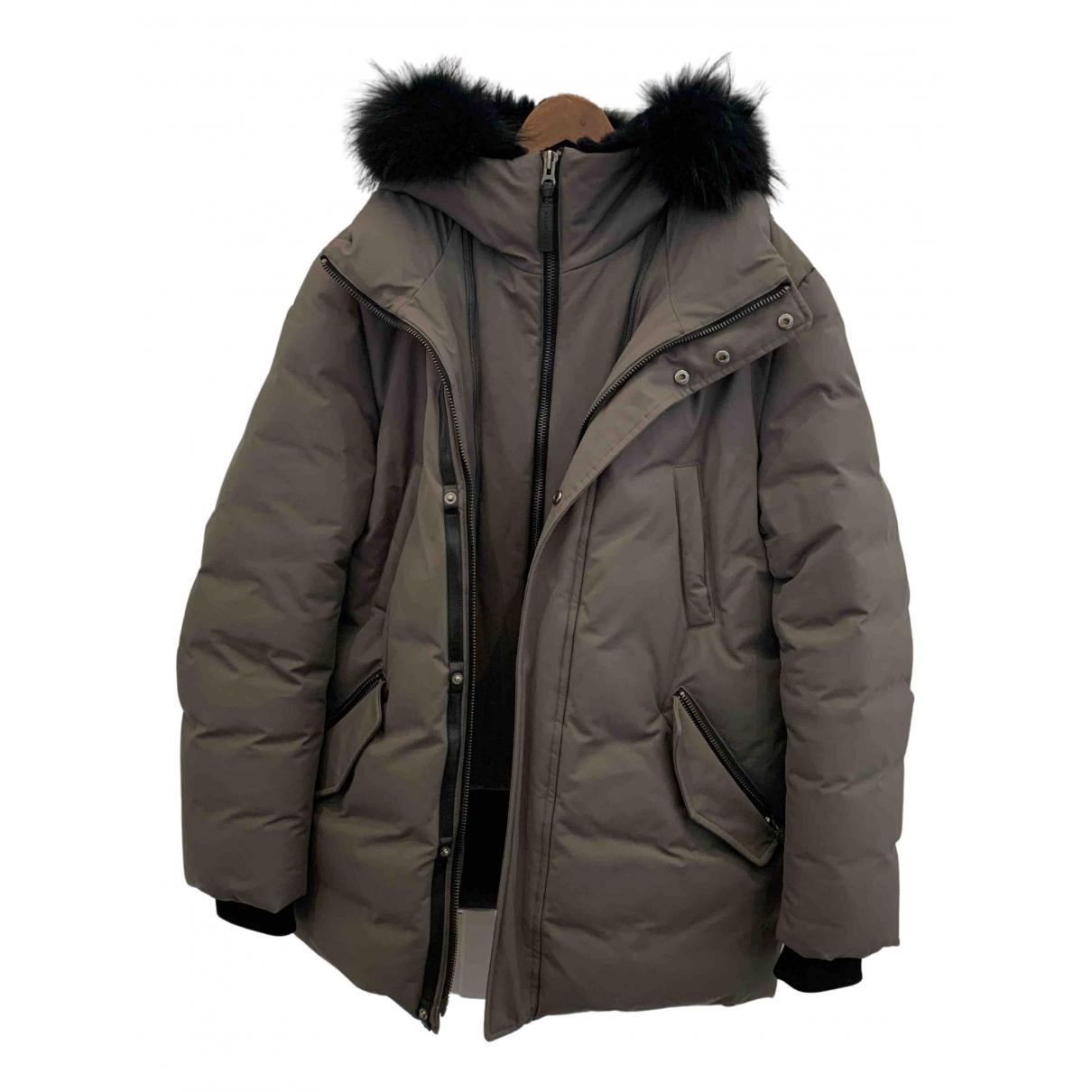 Mackage N Anthracite Cotton coat  for Men 42 UK - US
