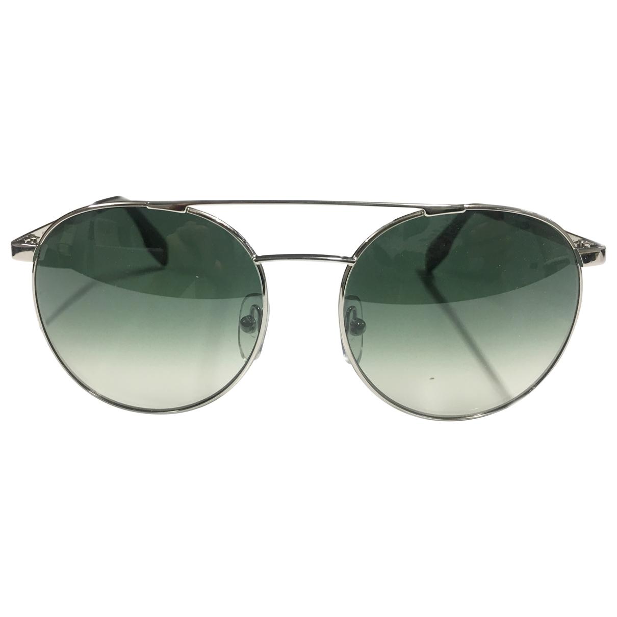 Cutler & Gross \N Sonnenbrillen in  Silber Metall
