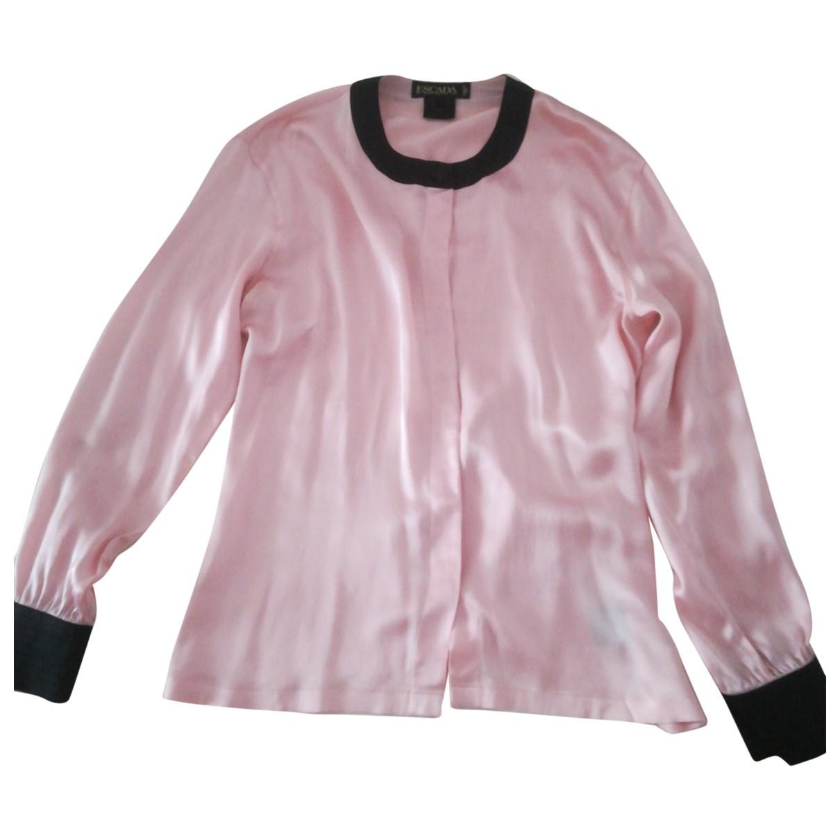 Escada \N Pink Silk  top for Women 40 FR