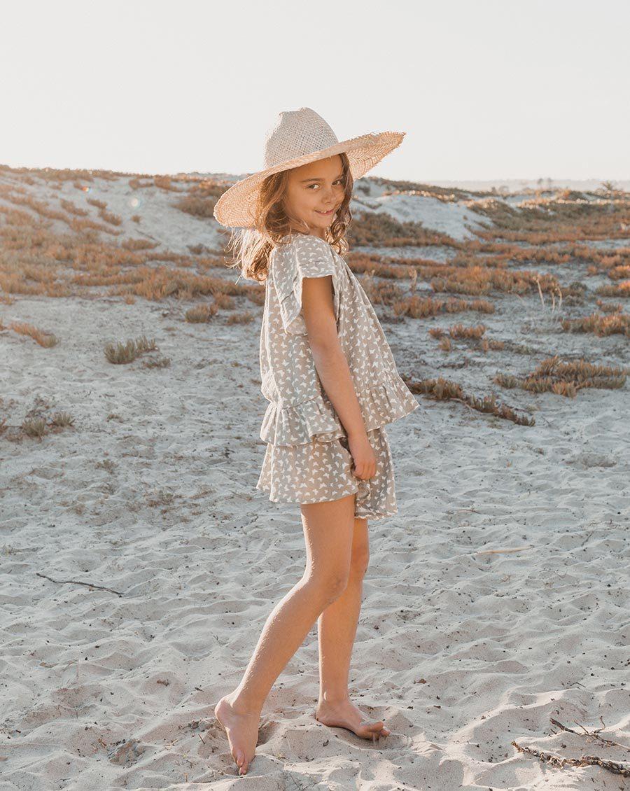 Seafoam Mini Skirt