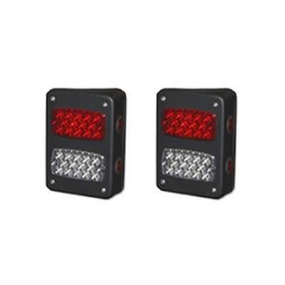 Warrior Steel LED Tail Lights - 2995