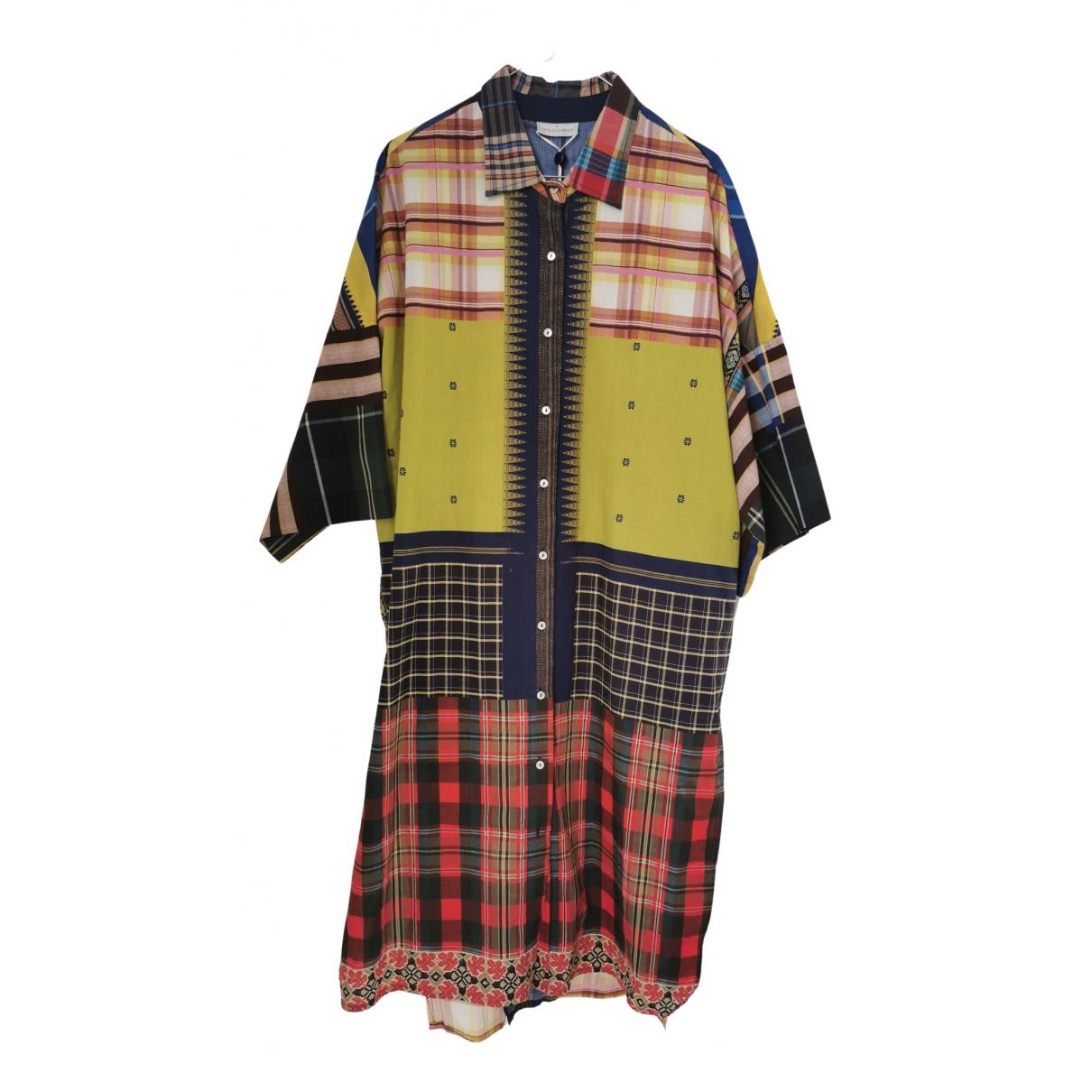 Pierre-louis Mascia N Multicolour Cotton dress for Women One Size FR