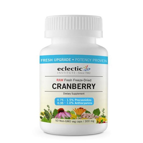 Cranberry 50 Caps by Eclectic Institute Inc