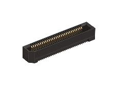 Hirose , ER8 0.8mm Pitch 20 Way 2 Row Straight PCB Socket, Surface Mount, Solder Termination (375)