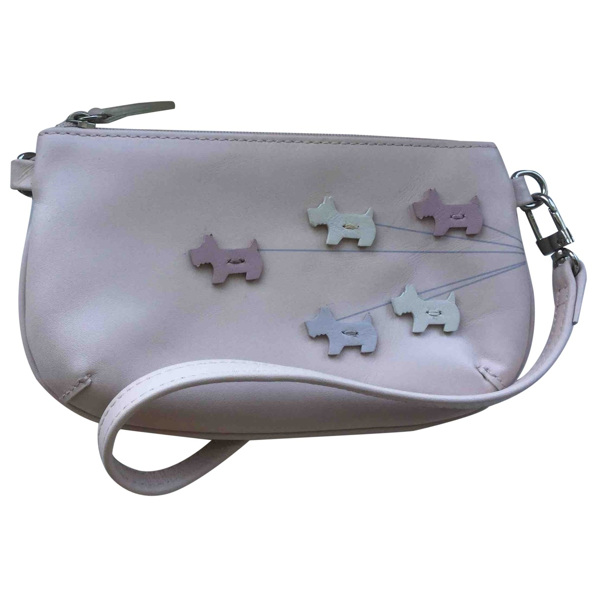 Radley London \N Pink Leather Clutch bag for Women \N