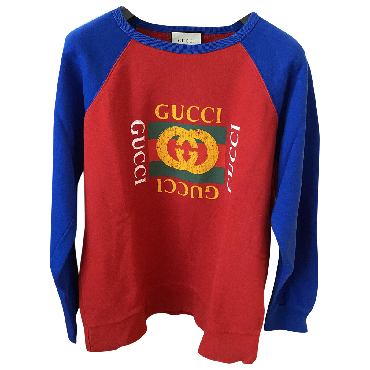 Gucci \N Blue Cotton Knitwear & Sweatshirts for Men XL International